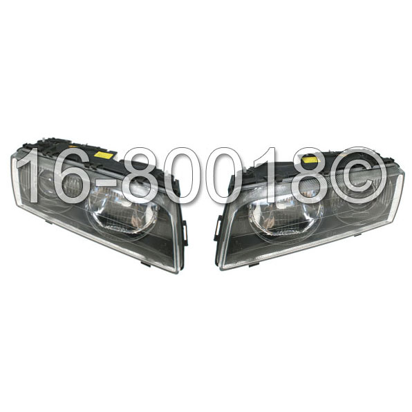 BMW 740                            Headlight Assembly PairHeadlight Assembly Pair