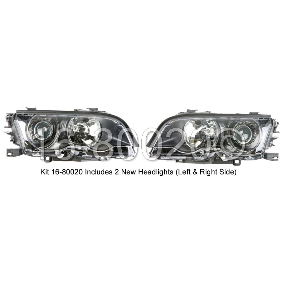 BMW M3                             Headlight Assembly PairHeadlight Assembly Pair