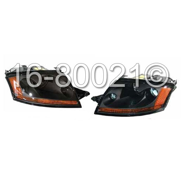 Audi TT                             Headlight Assembly PairHeadlight Assembly Pair