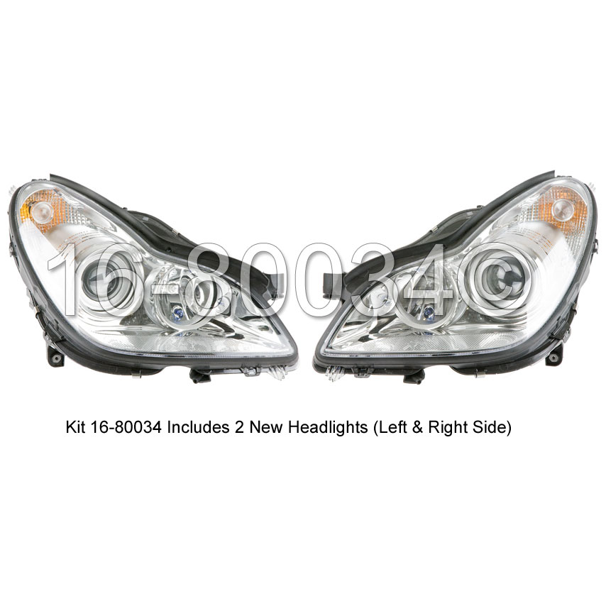 Mercedes_Benz CLS500                         Headlight Assembly PairHeadlight Assembly Pair