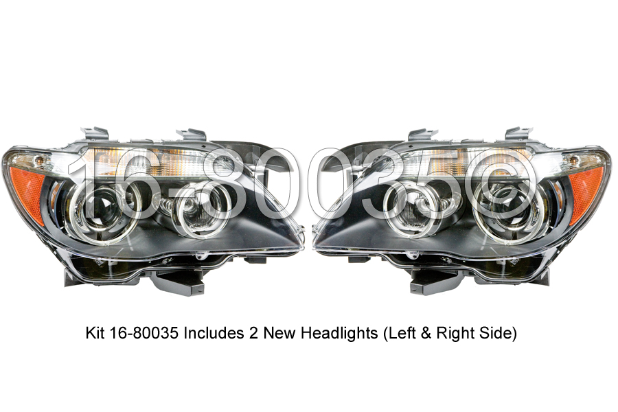 BMW 750iL                          Headlight Assembly PairHeadlight Assembly Pair