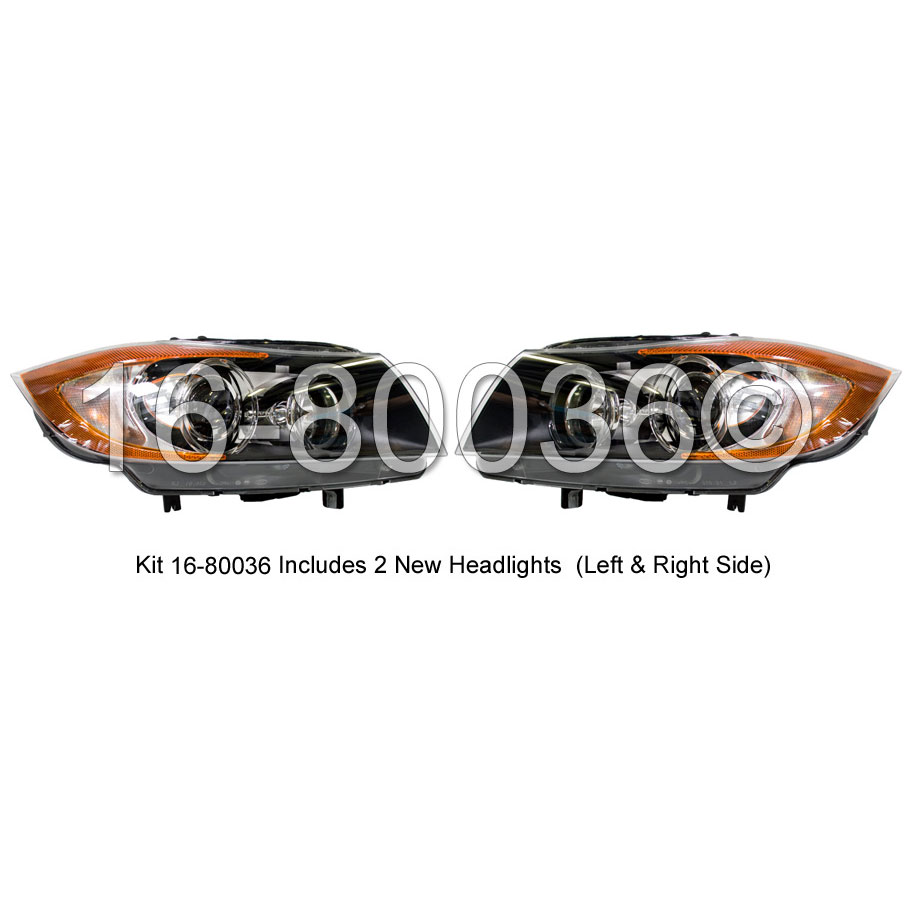 BMW 325i                           Headlight Assembly PairHeadlight Assembly Pair