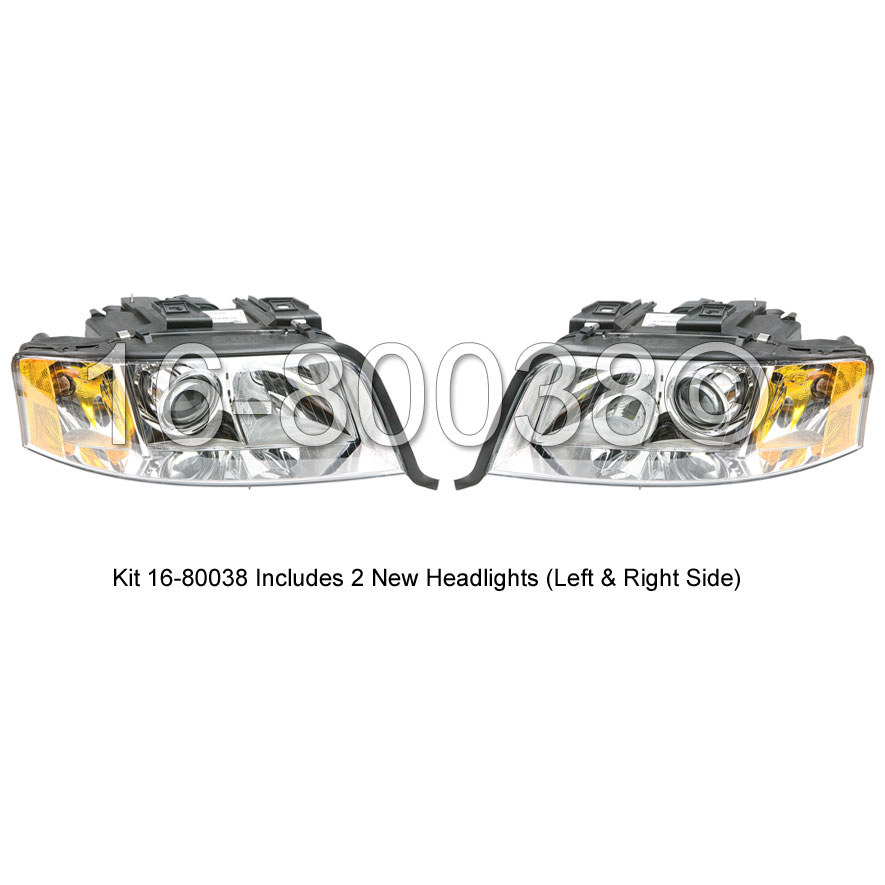 Audi A6                             Headlight Assembly PairHeadlight Assembly Pair