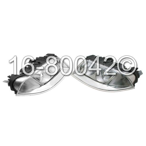 Volkswagen Passat                         Headlight Assembly PairHeadlight Assembly Pair