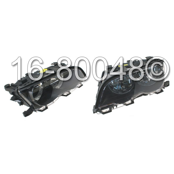 BMW 323Ci                          Headlight Assembly PairHeadlight Assembly Pair