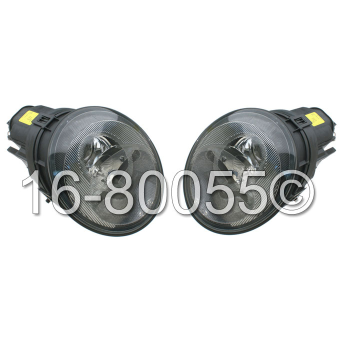 Porsche 911                            Headlight Assembly PairHeadlight Assembly Pair