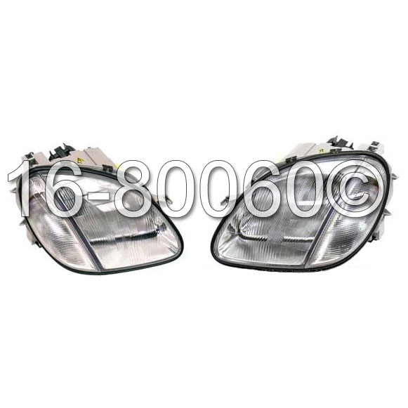 Mercedes_Benz SLK320                         Headlight Assembly Pair