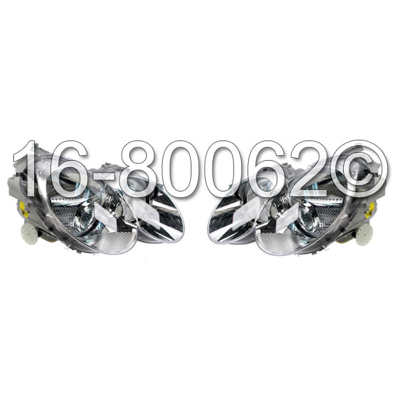Mercedes_Benz SL55 AMG                       Headlight Assembly PairHeadlight Assembly Pair