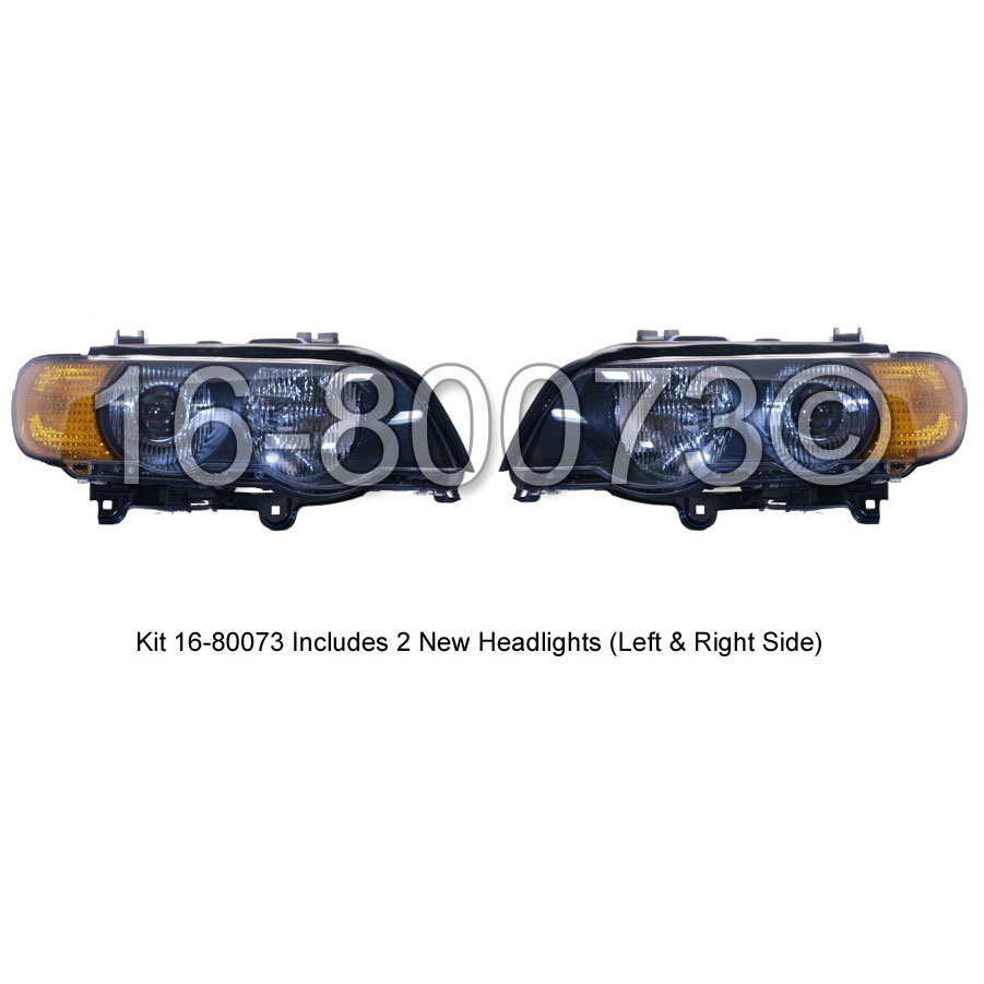 BMW X5                             Headlight Assembly PairHeadlight Assembly Pair