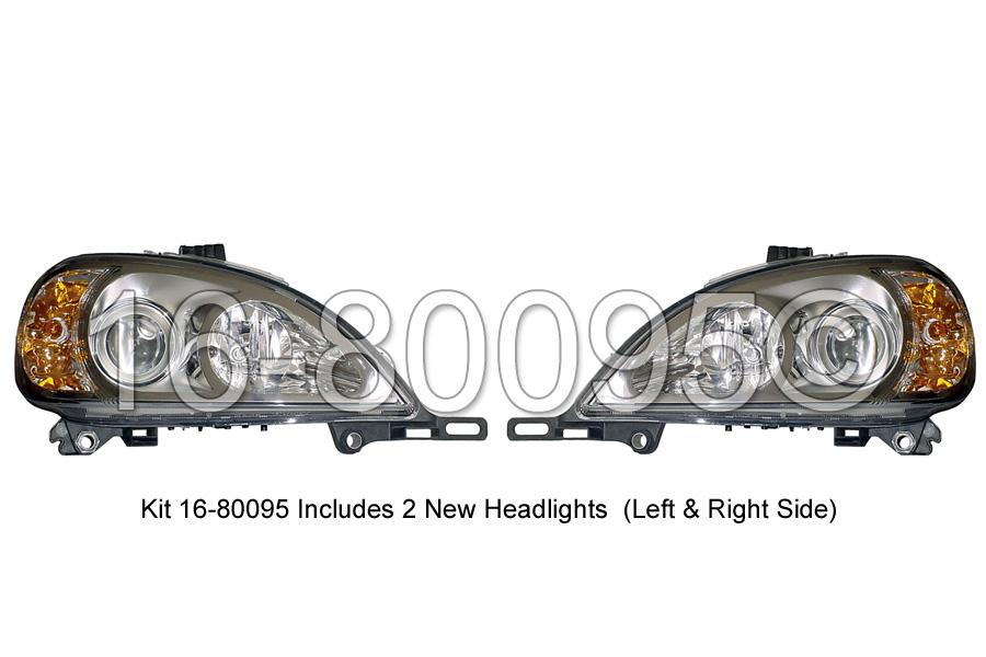 Mercedes_Benz ML55 AMG                       Headlight Assembly PairHeadlight Assembly Pair