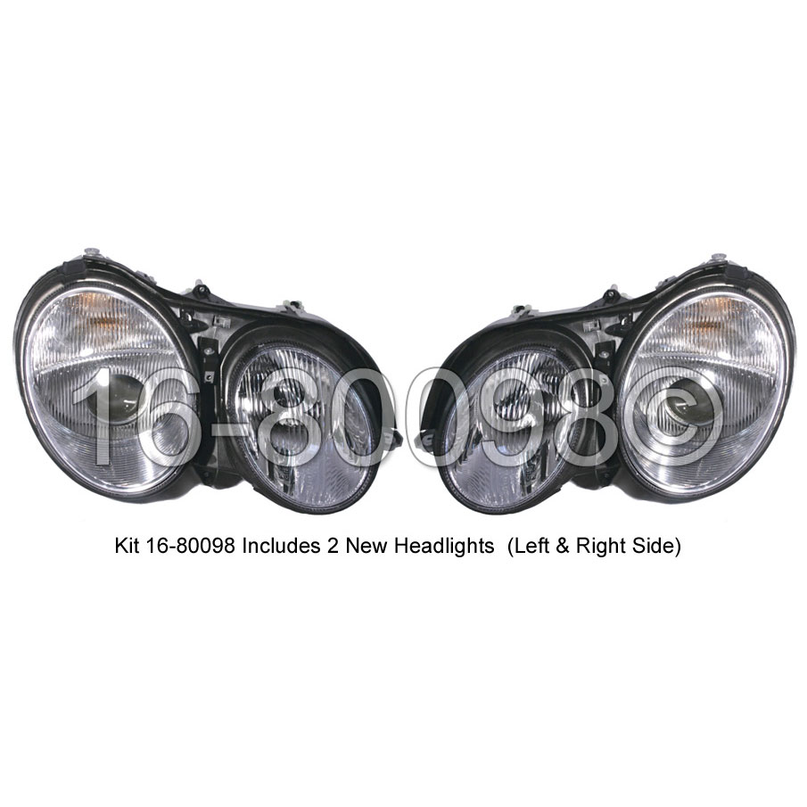 Mercedes_Benz CL500                          Headlight Assembly PairHeadlight Assembly Pair