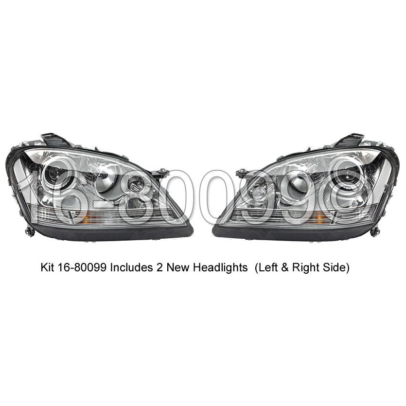 Mercedes_Benz ML320                          Headlight Assembly PairHeadlight Assembly Pair