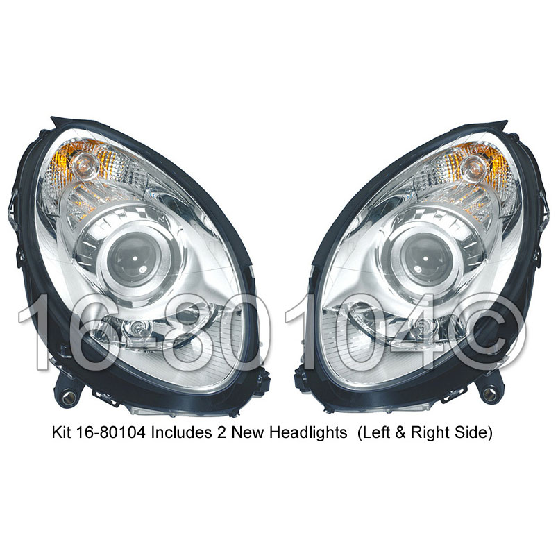 Mercedes_Benz R500                           Headlight Assembly PairHeadlight Assembly Pair