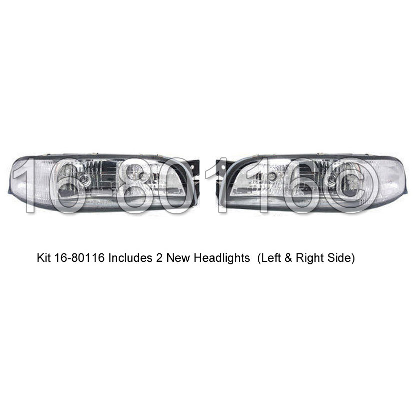 Buick LeSabre                        Headlight Assembly PairHeadlight Assembly Pair