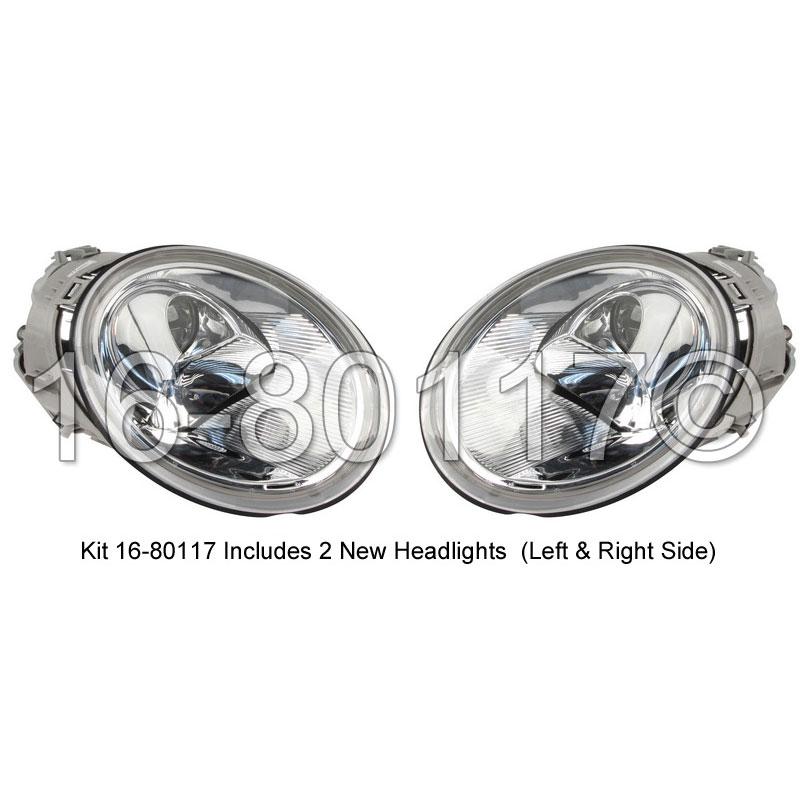 Volkswagen Beetle                         Headlight Assembly PairHeadlight Assembly Pair