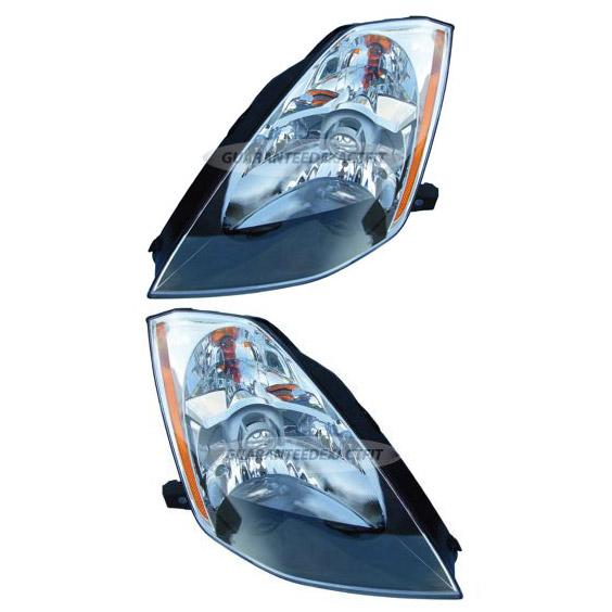 Nissan 350Z                           Headlight Assembly PairHeadlight Assembly Pair