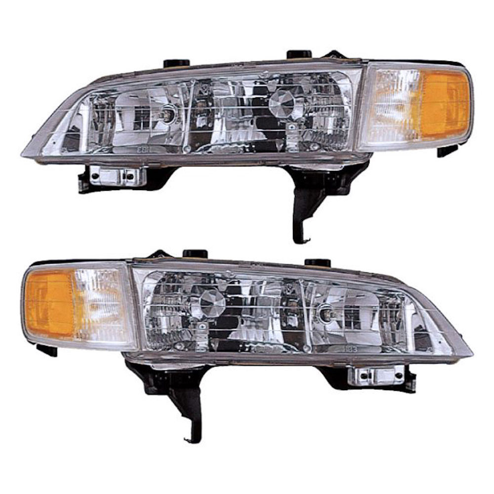 Honda Accord                         Headlight Assembly PairHeadlight Assembly Pair