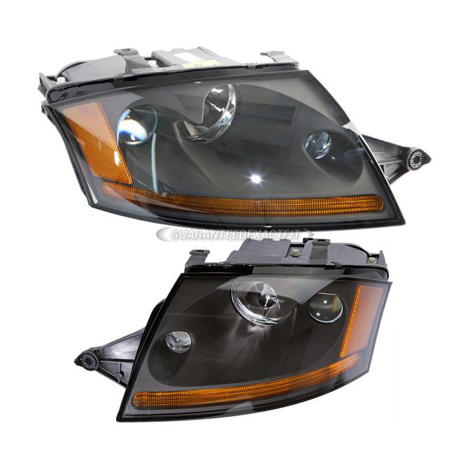 Audi TT                             Headlight Assembly PairHeadlight Assembly Pair