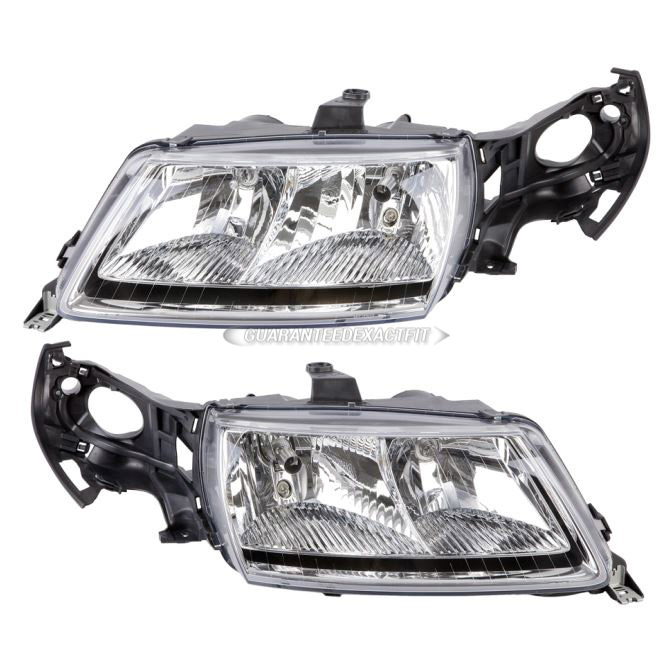 Saab 9-5                            Headlight Assembly PairHeadlight Assembly Pair