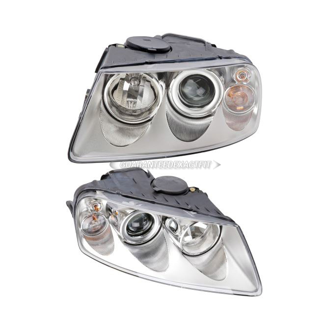 Volkswagen Touareg                        Headlight Assembly PairHeadlight Assembly Pair