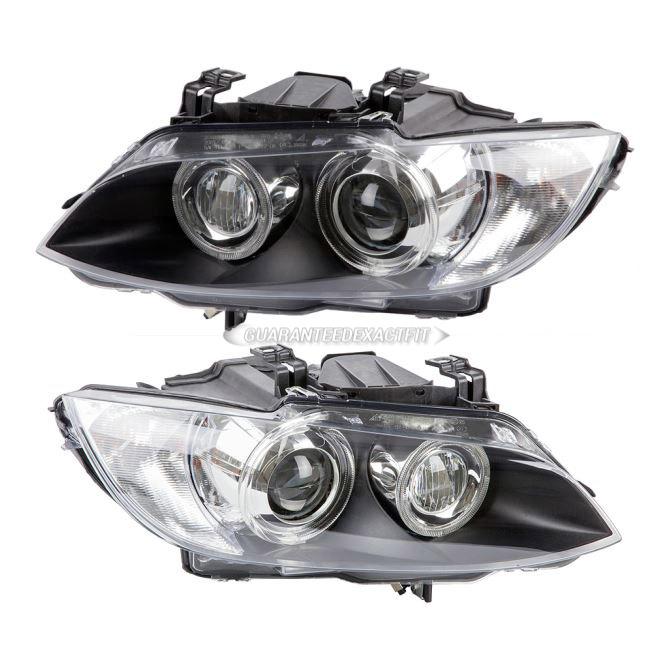 BMW 335xi                          Headlight Assembly PairHeadlight Assembly Pair