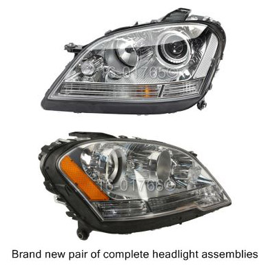Mercedes_Benz ML550                          Headlight Assembly Pair