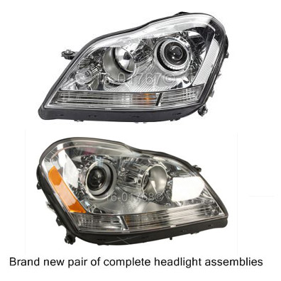 Mercedes_Benz GL350                          Headlight Assembly Pair