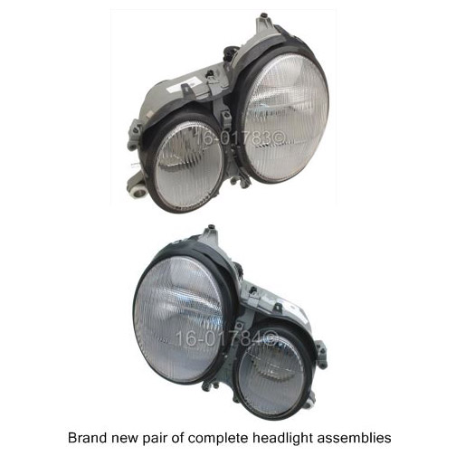 Mercedes_Benz E430                           Headlight Assembly PairHeadlight Assembly Pair