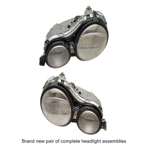 Mercedes_Benz E420                           Headlight Assembly PairHeadlight Assembly Pair