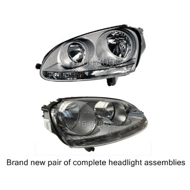 Volkswagen Rabbit                         Headlight Assembly Pair