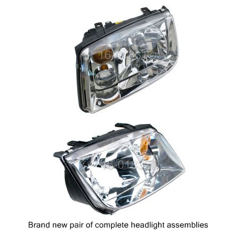 Volkswagen Jetta                          Headlight Assembly PairHeadlight Assembly Pair