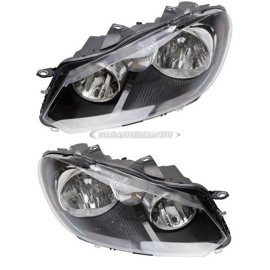 Volkswagen GTI                            Headlight Assembly PairHeadlight Assembly Pair