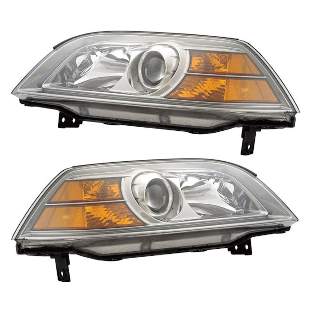 Acura MDX                            Headlight Assembly PairHeadlight Assembly Pair