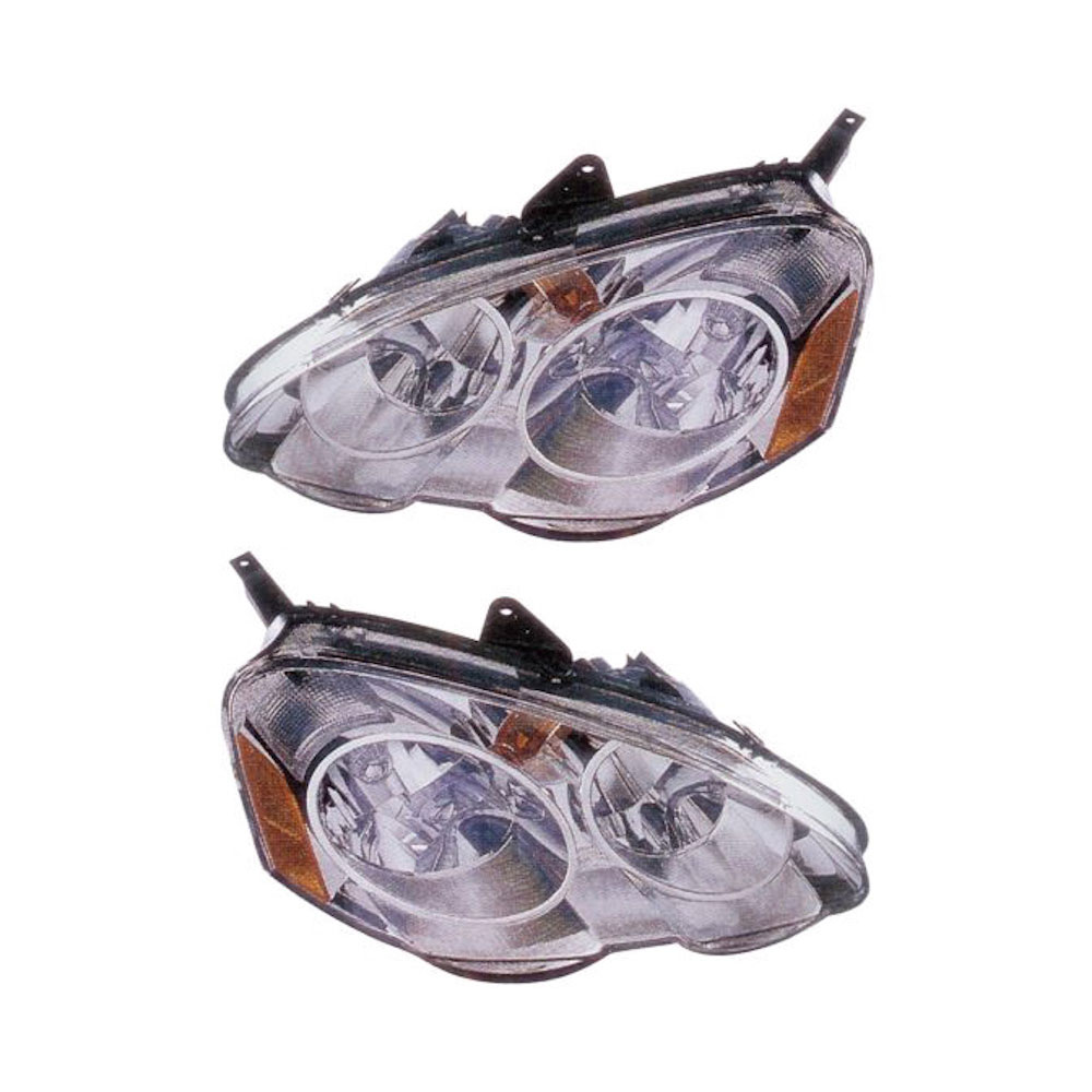 Acura RSX                            Headlight Assembly PairHeadlight Assembly Pair