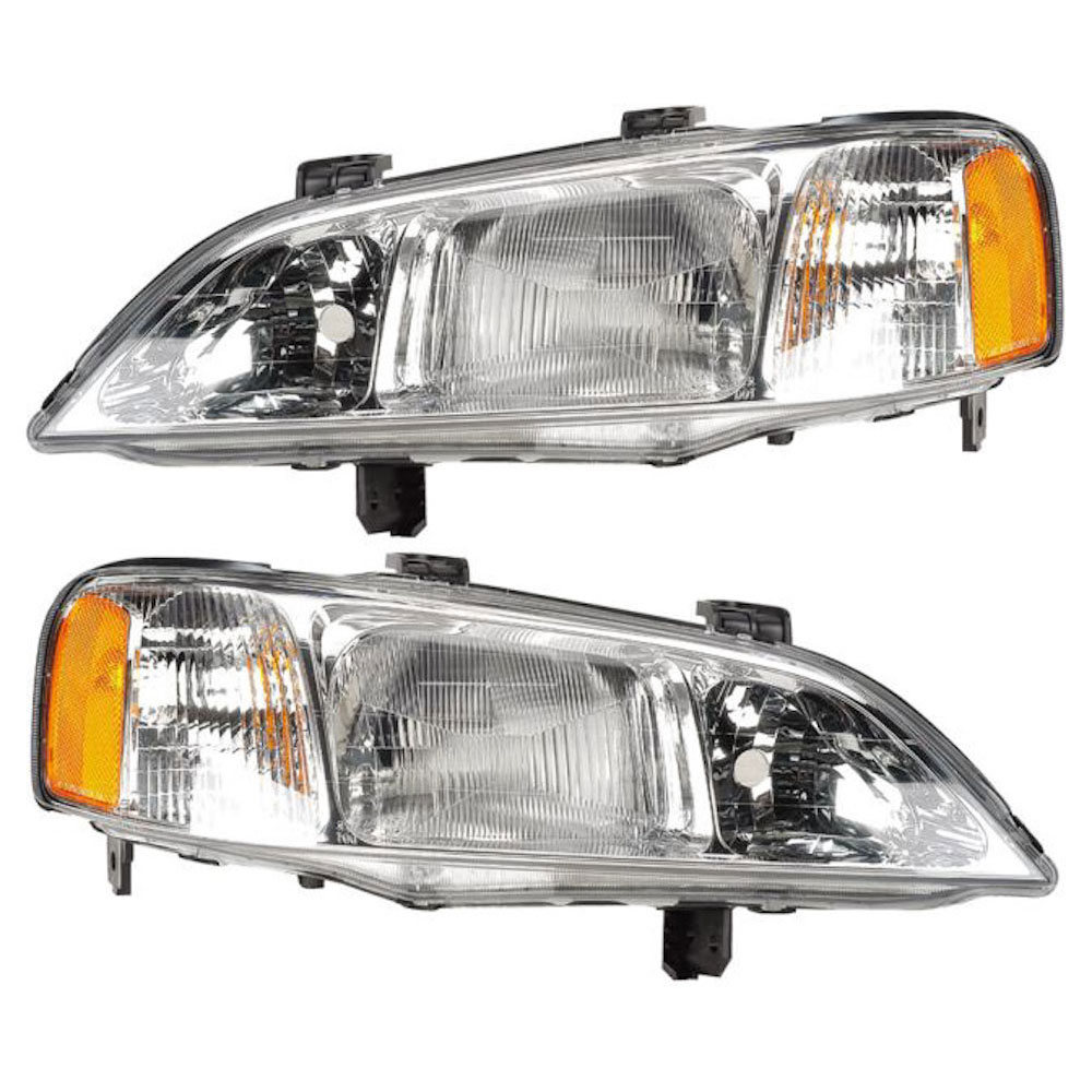 Acura TL                             Headlight Assembly PairHeadlight Assembly Pair