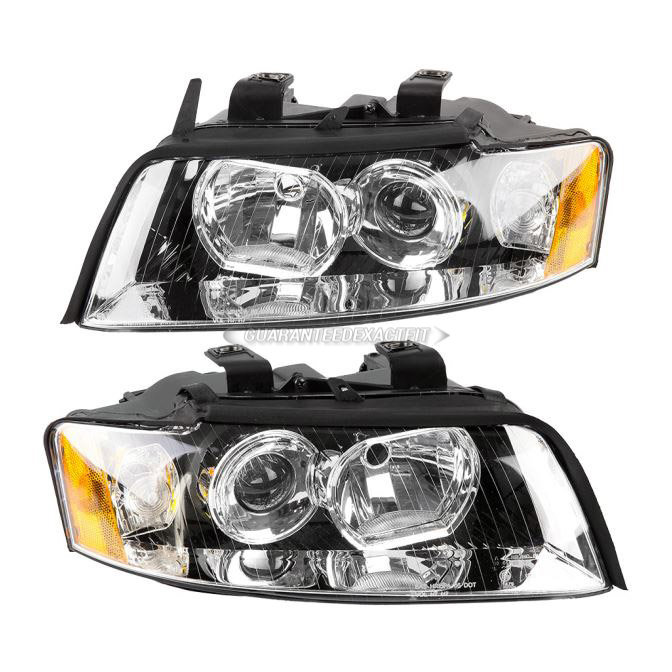 Audi S4                             Headlight Assembly PairHeadlight Assembly Pair