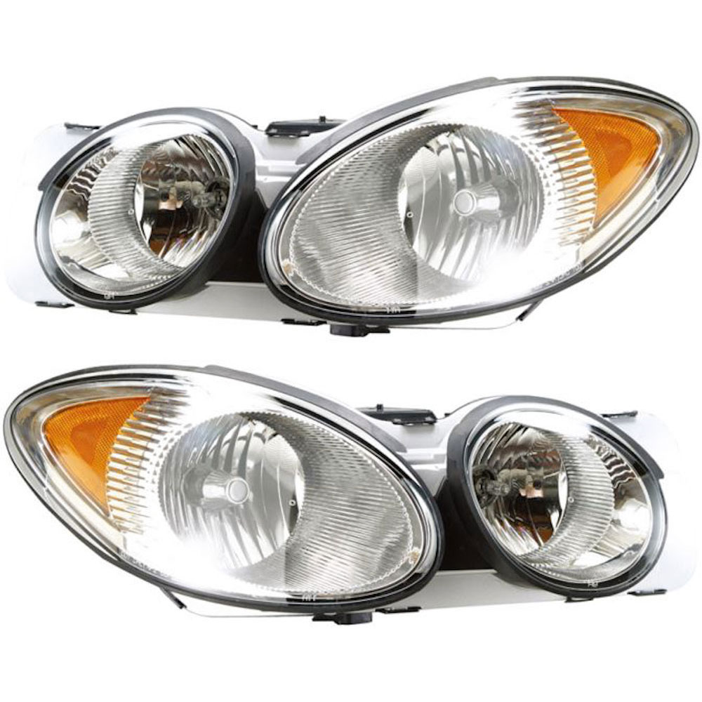 Buick LaCrosse                       Headlight Assembly Pair