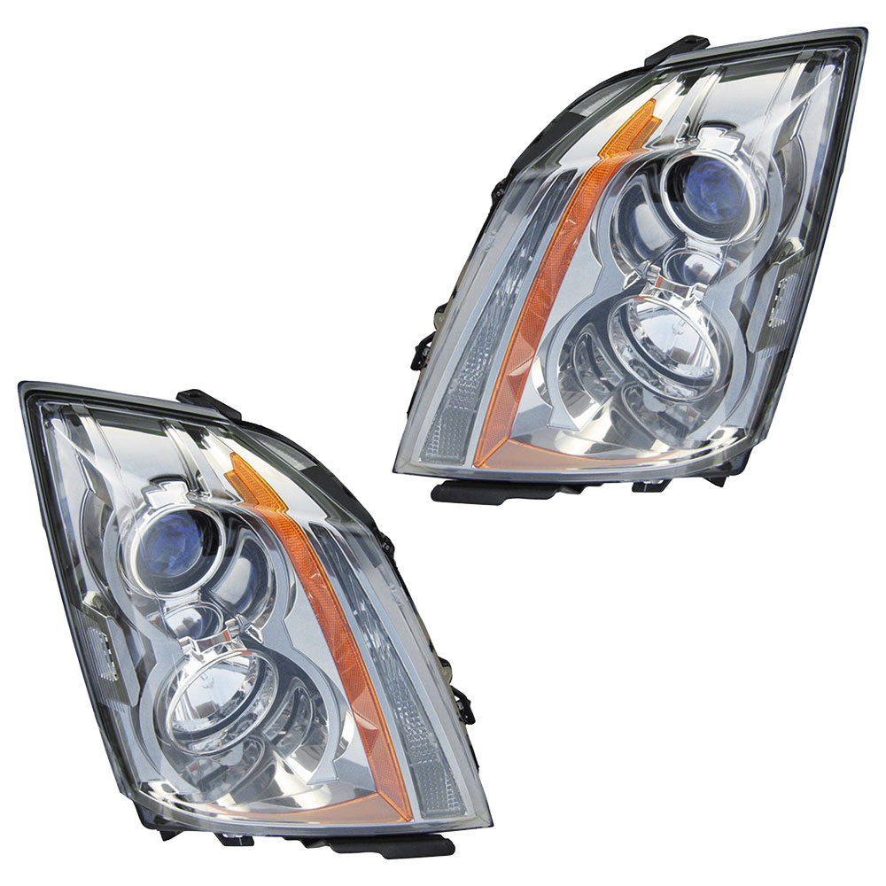 Cadillac CTS                            Headlight Assembly PairHeadlight Assembly Pair