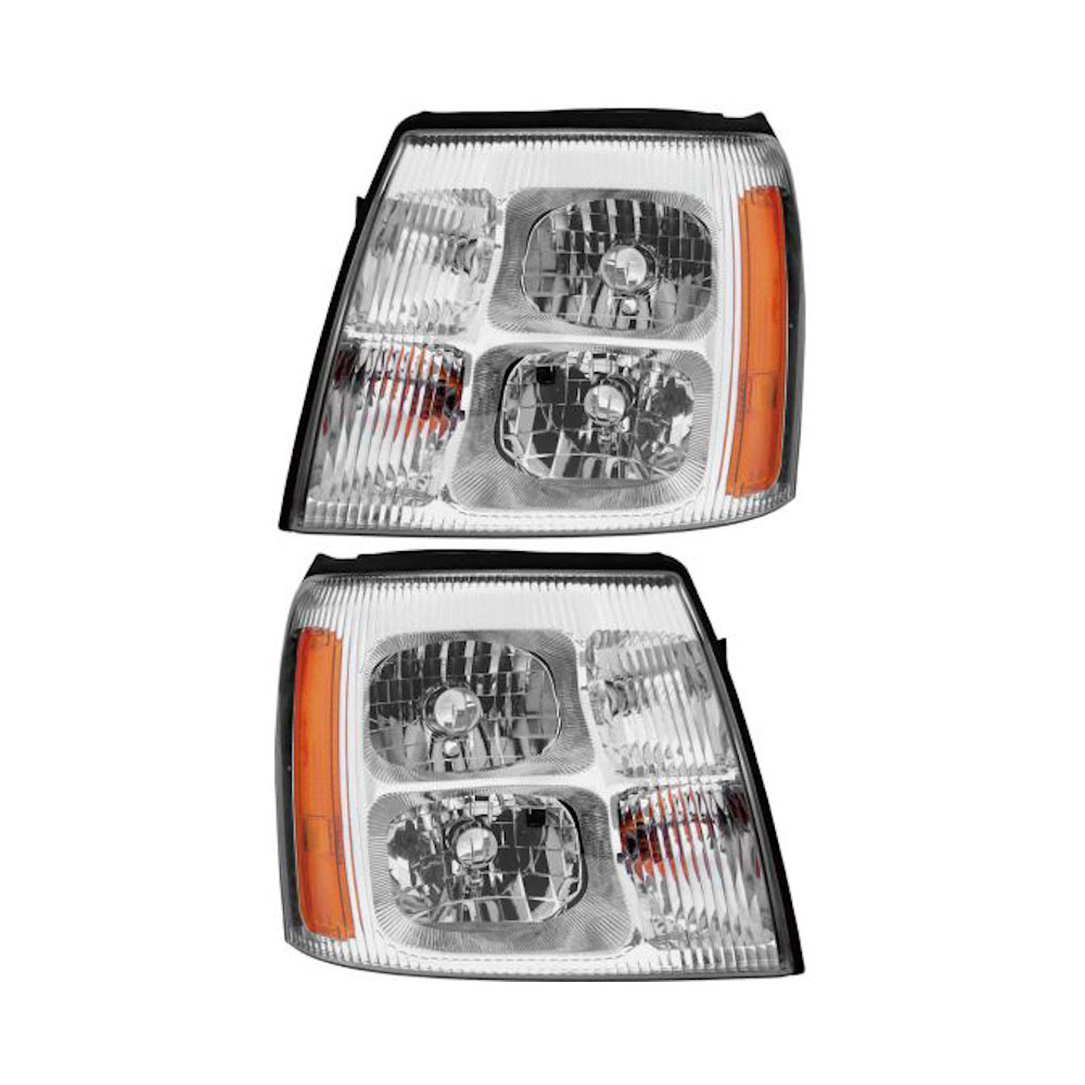 Cadillac Escalade                       Headlight Assembly PairHeadlight Assembly Pair