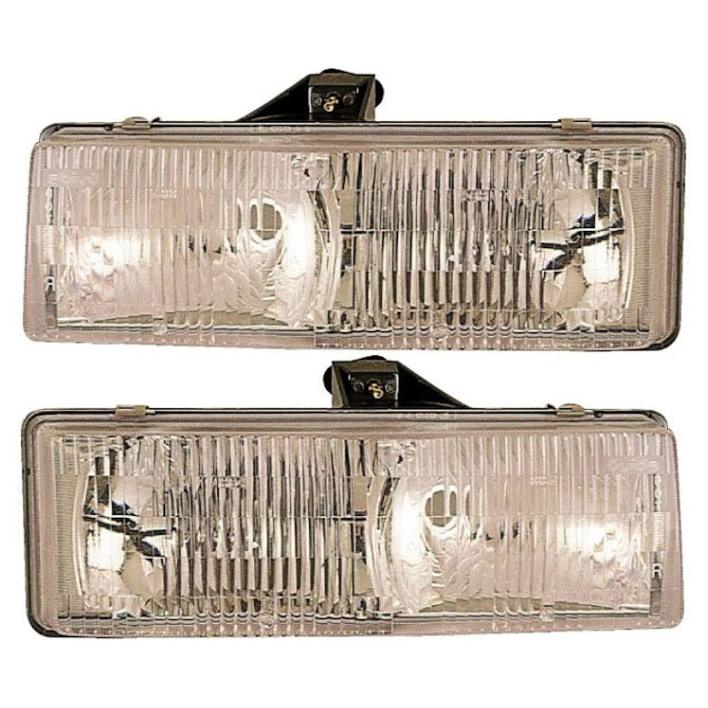 Chevrolet Astro Van                      Headlight Assembly PairHeadlight Assembly Pair
