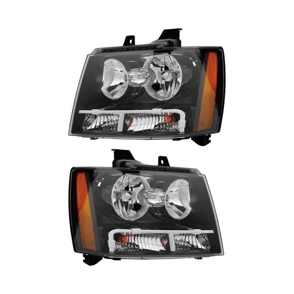 Chevrolet Avalanche                      Headlight Assembly PairHeadlight Assembly Pair