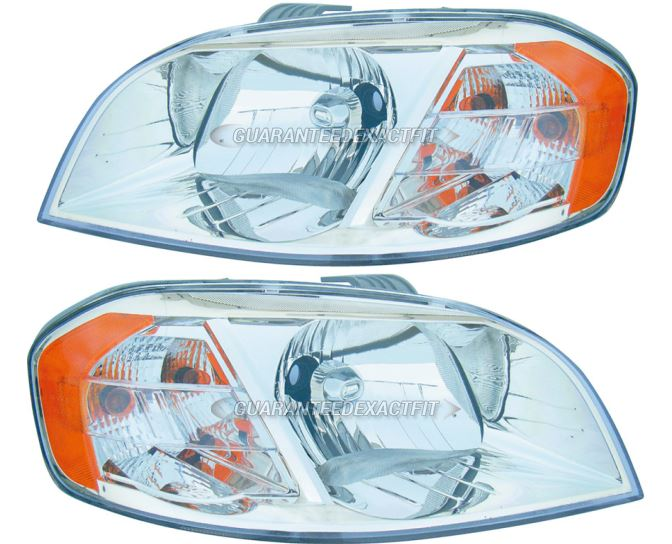 Chevrolet Aveo                           Headlight Assembly PairHeadlight Assembly Pair
