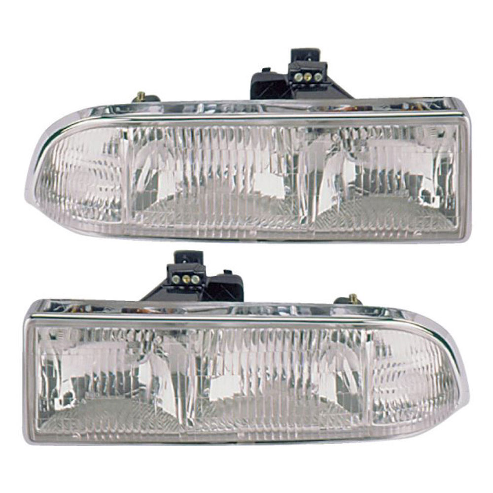Chevrolet S10 Truck                      Headlight Assembly PairHeadlight Assembly Pair