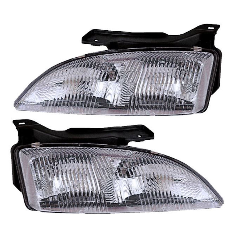 Chevrolet Cavalier                       Headlight Assembly PairHeadlight Assembly Pair