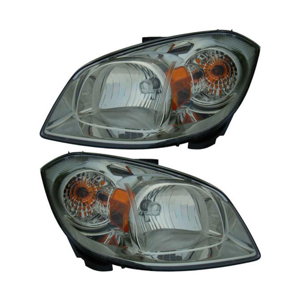 Chevrolet Cobalt                         Headlight Assembly PairHeadlight Assembly Pair