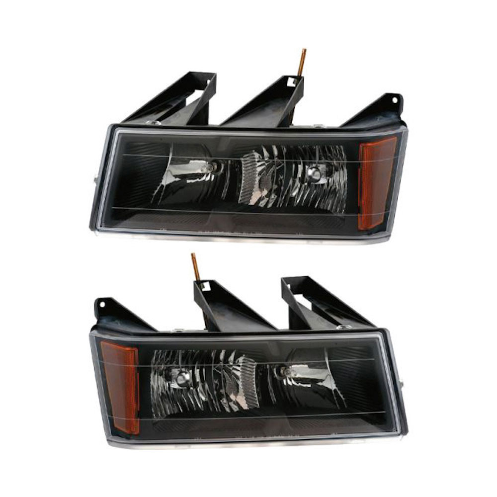 GMC Canyon                         Headlight Assembly PairHeadlight Assembly Pair