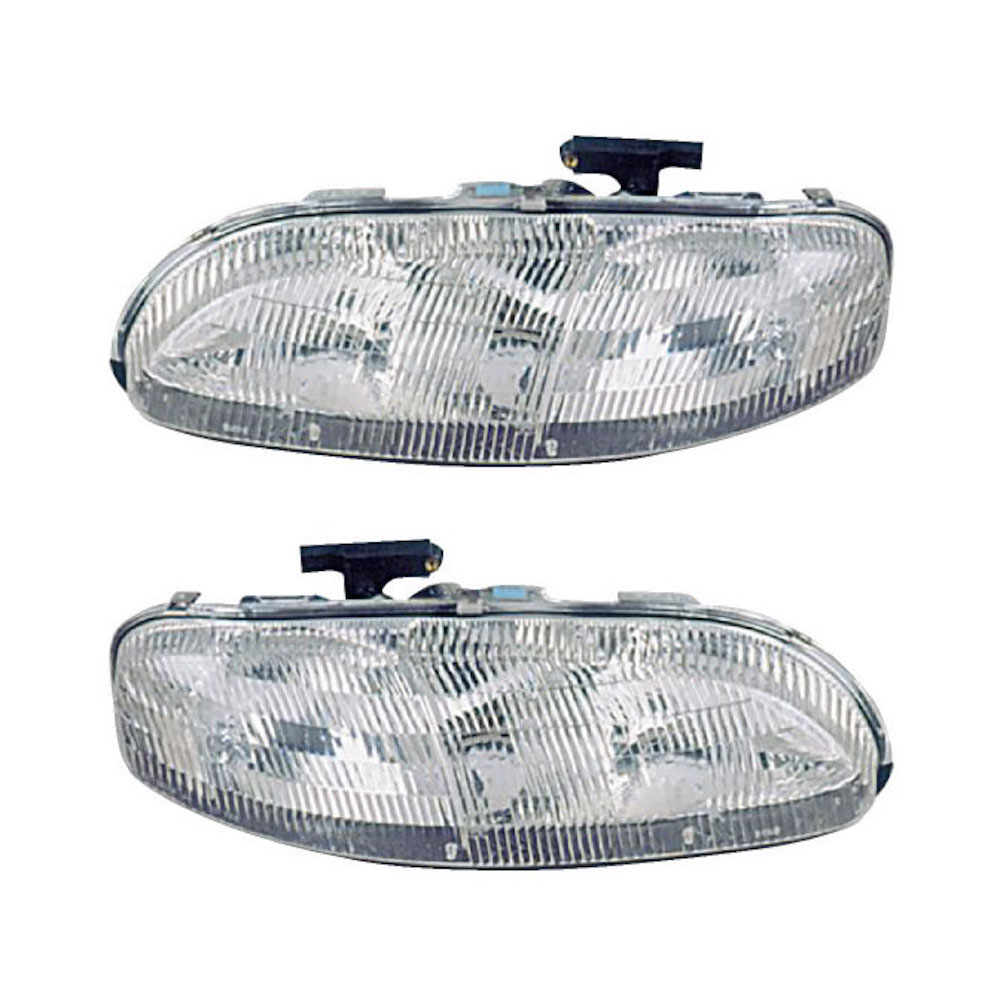 Chevrolet Monte Carlo                    Headlight Assembly PairHeadlight Assembly Pair