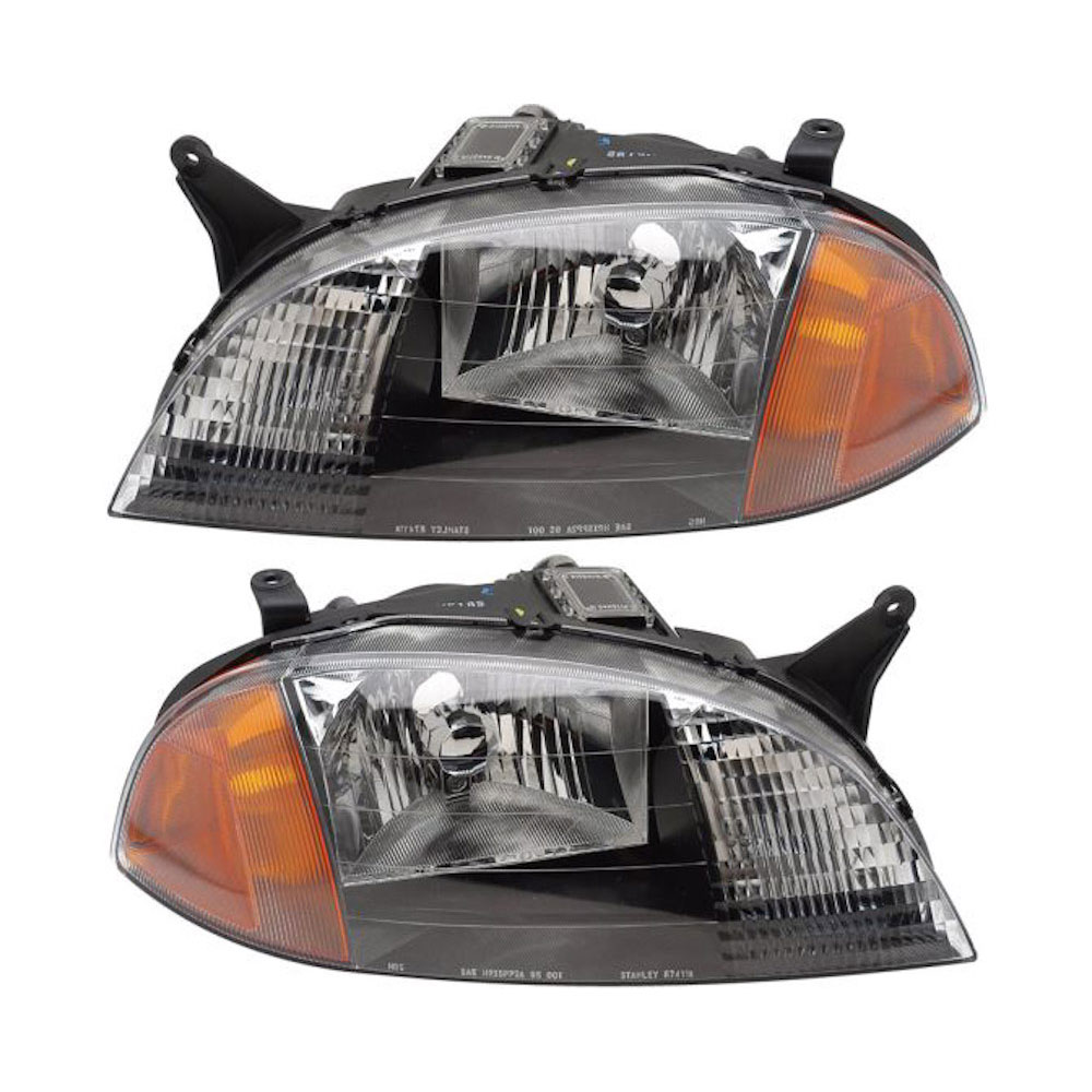 Chevrolet Metro                          Headlight Assembly Pair