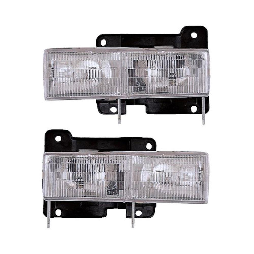 Chevrolet Suburban                       Headlight Assembly PairHeadlight Assembly Pair