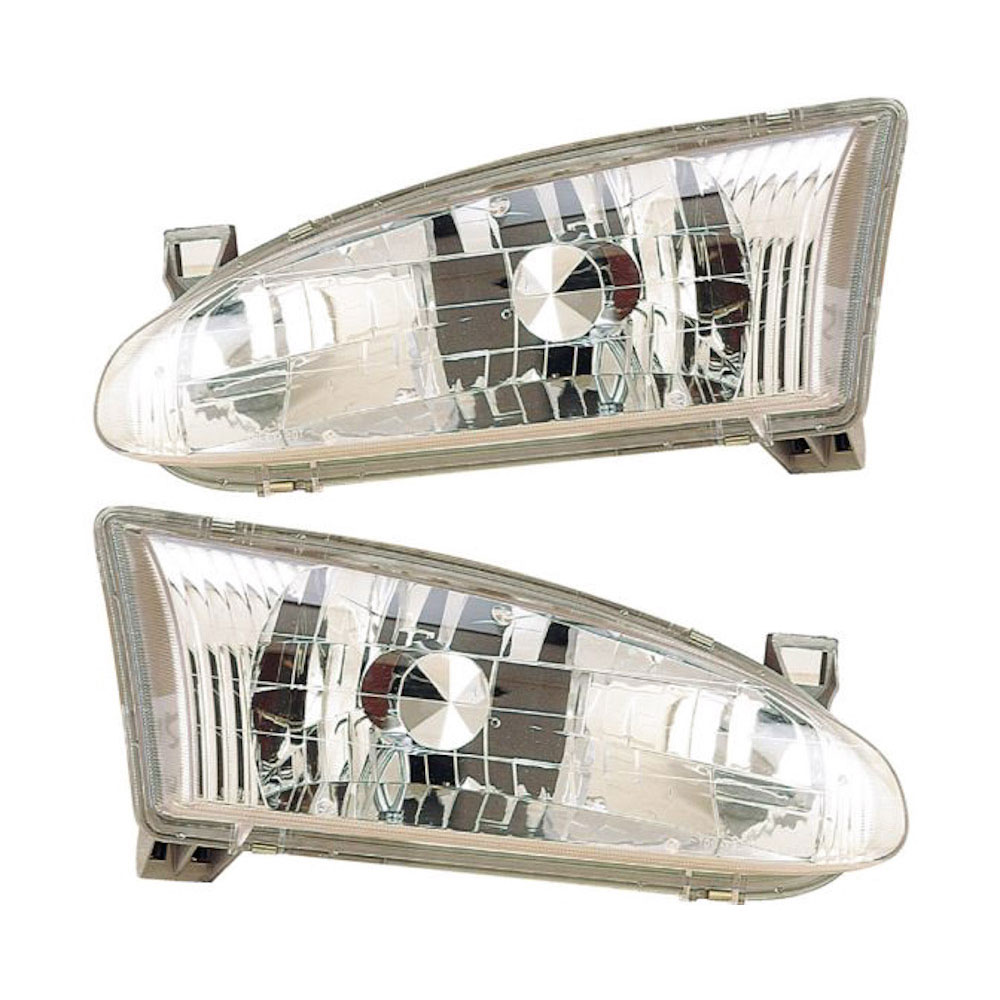 Chevrolet Prizm                          Headlight Assembly PairHeadlight Assembly Pair